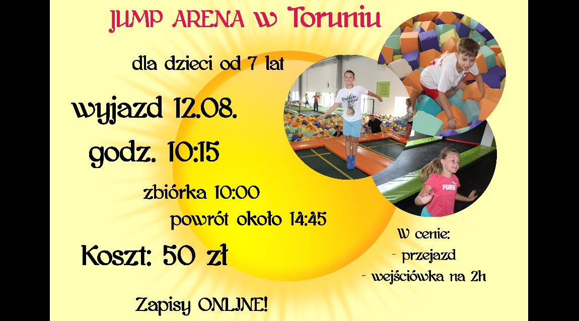 Odjazdowa środa - Jump Arena w Toruniu