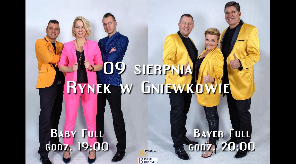Koncert Baby i Bayer Full - REGULAMIN
