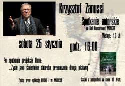 Krzysztof ZANUSSI - spotkanie autorskie!